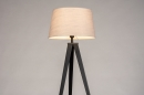 Vloerlamp 31062: design, modern, stof, metaal #4