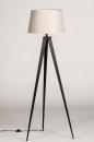 Vloerlamp 31062: design, modern, stof, metaal #6