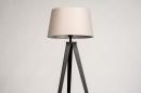 Vloerlamp 31062: design, modern, stof, metaal #7