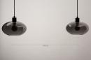 Hanglamp 31064: modern, retro, eigentijds klassiek, glas #12