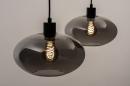 Hanglamp 31064: modern, retro, eigentijds klassiek, glas #2
