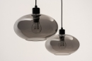 Hanglamp 31064: modern, retro, eigentijds klassiek, glas #5