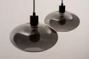 Hanglamp 31064: modern, retro, eigentijds klassiek, glas #6