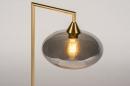 Tafellamp 31067: modern, retro, eigentijds klassiek, glas #4