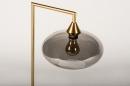 Tafellamp 31067: modern, retro, eigentijds klassiek, glas #7