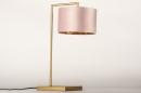 Tafellamp 31070: modern, eigentijds klassiek, messing, stof #7