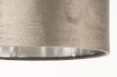 Tafellamp 31073: modern, eigentijds klassiek, messing, stof #9