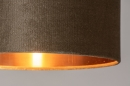 Tafellamp 31076: modern, eigentijds klassiek, messing, stof #8