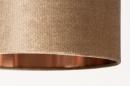 Tafellamp 31076: modern, eigentijds klassiek, messing, stof #9