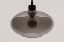 Hanglamp 31102: modern, retro, eigentijds klassiek, glas #5