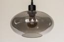 Hanglamp 31102: modern, retro, eigentijds klassiek, glas #6