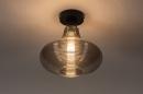 Plafondlamp 31120: modern, retro, eigentijds klassiek, glas #2