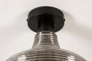 Plafondlamp 31120: modern, retro, eigentijds klassiek, glas #7