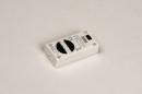 Dimmer 318: kunststof, wit, rechthoekig #2