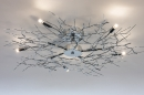 Ceiling lamp 70464: modern, contemporary classical, metal, chrome #1
