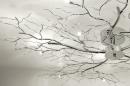 Plafondlamp 70465: modern, eigentijds klassiek, metaal, chroom #7