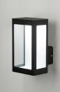 Wandleuchte-71490-modern-zeitgemaess_klassisch-Design-schwarz-matt-Aluminium-Glas-klares_Glas-rechteckig