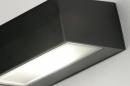 Wandlamp 71510: modern, eigentijds klassiek, aluminium, metaal #10