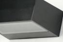 Wandlamp 71510: modern, eigentijds klassiek, aluminium, metaal #11
