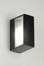 Wandlamp 71510: modern, eigentijds klassiek, aluminium, metaal #12