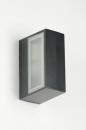 Wandlamp 71510: modern, eigentijds klassiek, aluminium, metaal #13