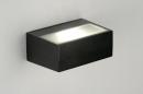 Wandlamp 71510: modern, eigentijds klassiek, aluminium, metaal #14