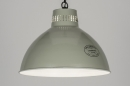pendant_lamp-72190-contemporary_classical-rustic-retro-industrial_look-grey-green-metal-round