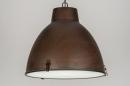 Lampara_colgante-72201-Ofertas-Moderno-Rural_rustico-Retro-Aspecto_industrial-Bronce-oxido_(marron)-Herrumbre-marron-bronce-Metal-Redonda