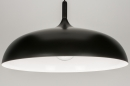 Lampara_colgante-72466-Moderno-Retro-Aspecto_industrial-Negro-Aluminio
