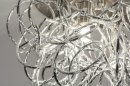 Plafondlamp 72500: modern, staal rvs, aluminium, metaal #6