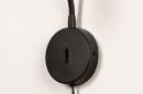 Wandlamp 72843: modern, metaal, zwart, mat #9