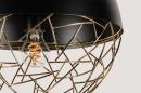 Hanglamp 72867: modern, retro, eigentijds klassiek, messing #18