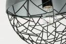 Hanglamp 72870: modern, stoer, raw, betongrijs #6