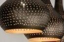 Pendant light 73105: rustic, modern, metal, black #13