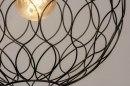 Hanglamp 73126: modern, metaal, zwart, mat #6