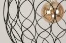Hanglamp 73126: modern, metaal, zwart, mat #8