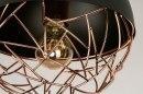 Plafondlamp 73179: modern, retro, metaal, zwart #4