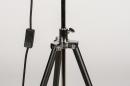 Floor lamp 73201: industrial look, modern, metal, black #10