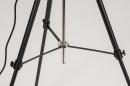 Floor lamp 73201: industrial look, modern, metal, black #11