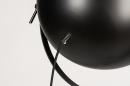Floor lamp 73201: industrial look, modern, metal, black #12