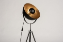 Floor lamp 73201: industrial look, modern, metal, black #5