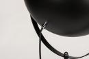Floor lamp 73204: industrial look, modern, metal, black #13