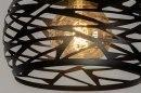 Hanglamp 73256: modern, metaal, zwart, mat #7