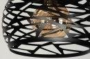 Hanglamp 73256: modern, metaal, zwart, mat #9