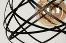 Hanglamp 73264: modern, metaal, zwart, mat #9