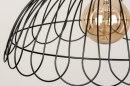 Hanglamp 73266: sale, modern, metaal, zwart #8