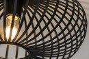Plafondlamp 73293: modern, retro, metaal, zwart #5