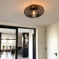 Plafondlamp 73293: modern, retro, metaal, zwart #6