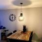 Suspension 73314: look industriel, moderne, lampes costauds, acier #10