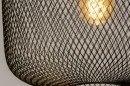 Suspension 73314: look industriel, moderne, lampes costauds, acier #6